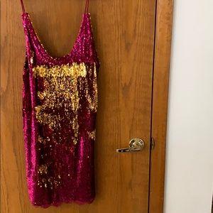 Free People Sequin Dress (L)
